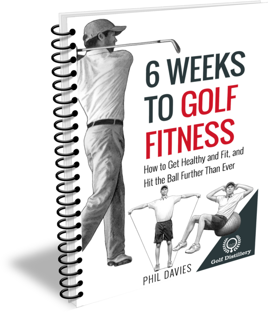 6 Weeks To Golf Fitness - Spiral Cover