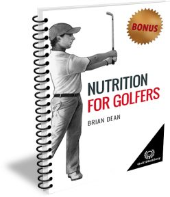 Nutrition For Golfers - Spiral Cover