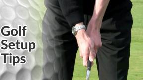 Golf Tips on the Golf Setup