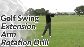 Video Preview of a Golf Drill for the Arm Rotation