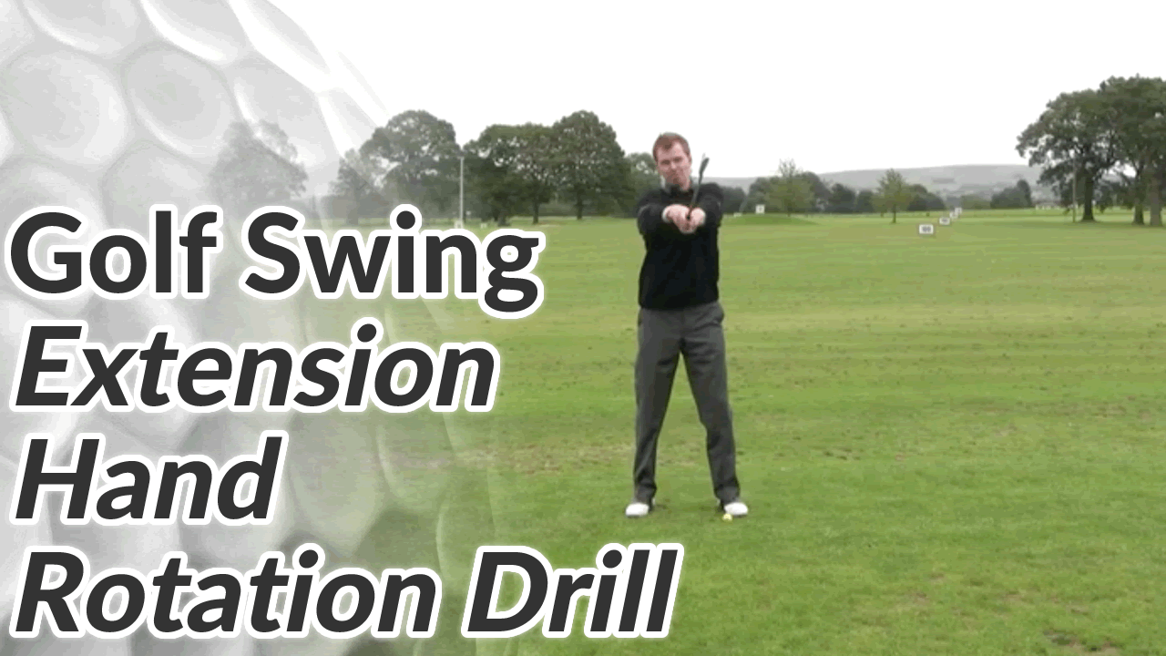 Golf Drill For Correct Hand Rotation