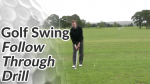 Video Preview of a Golf Drill for the Follow Through
