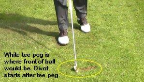 Golf Fat Shot Drill 1 Free Online Golf Tips