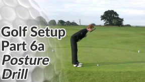 Video Preview of a Posture Drill in a Golf Setup