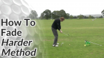 Video Preview of Golf Tips on How to Hit a Fade - Harder Method