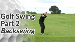 Video Preview of the Backswing Sequence of a Golf Swing
