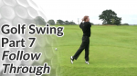 Video Preview of the Follow Through Sequence of a Golf Swing