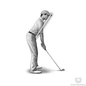 Golf Posture Drill