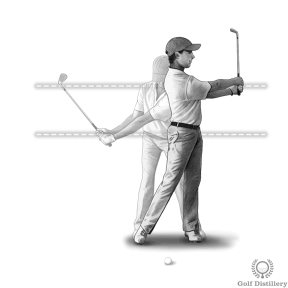 Golf drill on how to improve pitching consistency