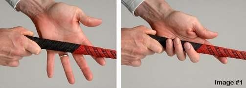how to take of a grip on golf club