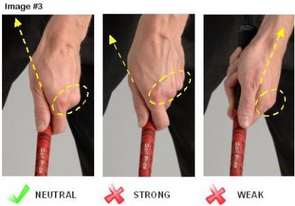 Proper Golf Grip Left Hand 429x300 Free Online Golf Tips