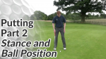 Video Preview of Putting Tips on Ball Position