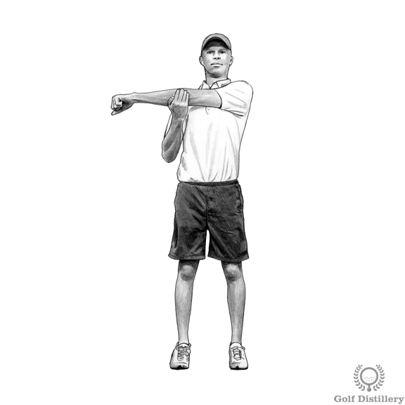 Rear Shoulder Stretch