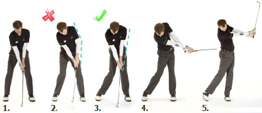 Topping The Golf Ball Fault #2 - Bending The Arms | Free ...