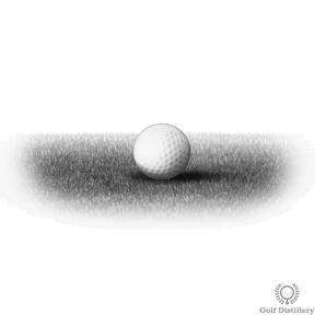 Tight Golf Lie