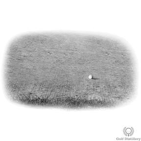 Bunker shot tips for a downhill lie