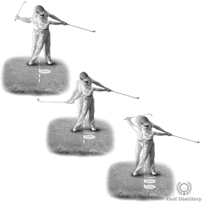 Bunker Shot Drill - Aim to take 6 inches of sand in your divots with different swing lengths (shot distance)