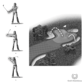 Bunker Shot Distance Control - Vary the length of your swing to control the distance of your bunker shots