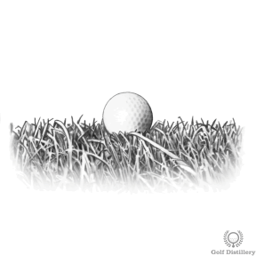 Chipping tips for a ball that is sitting up