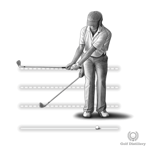Modify the length of the backswing to control the distance of a chip and run