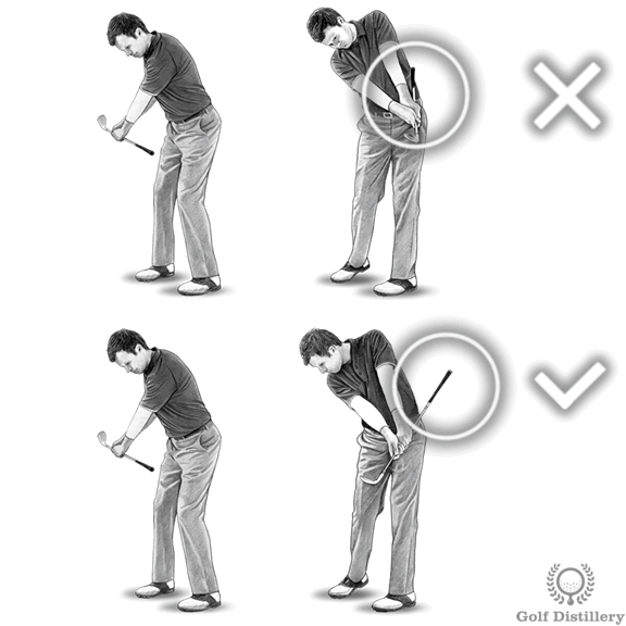 Chipping drill to promote consistent ball striking