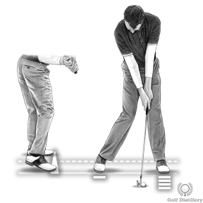 Push on your right toes at your bring your body weight forward towards your left foot