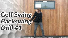 Video Preview of a Golf Drill for the Backswing - 1