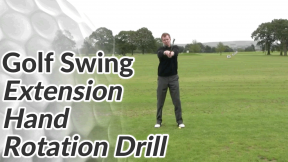 Video Preview of a Golf Drill for the Hand Rotation