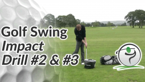 Video Preview of a Golf Drill for the Impact - 2 & 3