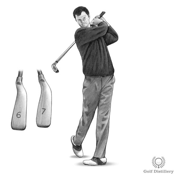 Golf Follow Through Drill