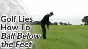 Video Preview of Golf Tips on How to Hit a Golf Ball Below your Feet