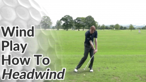 Video Preview of Golf Tips on How to Hit Shots into Headwind
