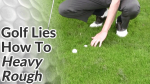Video Preview of Golf Tips on How to Hit Shots from Heavy Rough