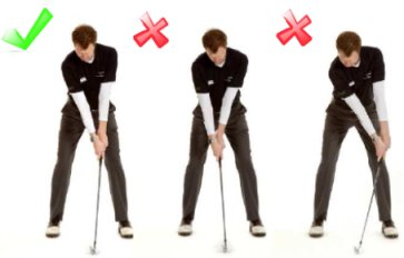 left hand golf driver swing
