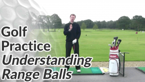 Video Preview of Golf Practice Tips on Understanding Range Balls