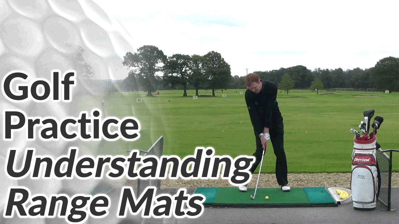 Video Preview of Golf Practice Tips on Understanding Range Mats