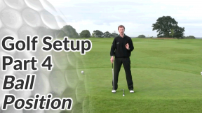 Video Preview of the Ball Position in a Golf Setup