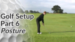 Video Preview of the Posture in a Golf Setup