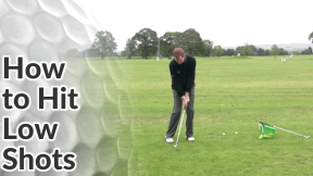 Video Preview of Golf Tips on How to Hit Low Shots
