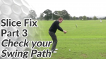 Video Preview of Slice Fix - Check your Swing Path