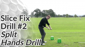 Video Preview of Slice Drill #2 - Split Hands Drill