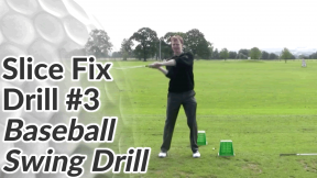 Video Preview of Slice Drill #3 - Baseball Swing Drill