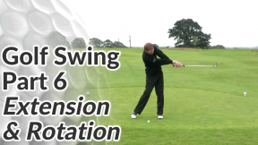 Video Preview of the Extension & Rotation Sequence of a Golf Swing