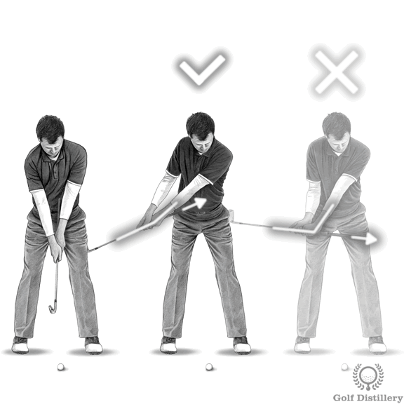 Golf Takeaway Drill - Passive Hands