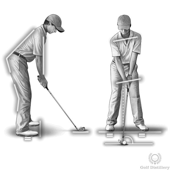 Golf Tips for Beginners - Setup Position