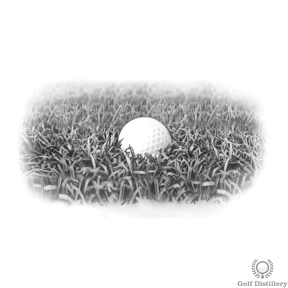 Heavy Rough Golf Lie