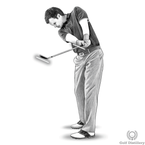 Hook Fix Drill #1 - Finish with the clubface pointing to the sky