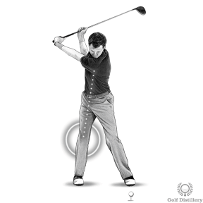 Increase driver distance by coiling a full shoulder rotation