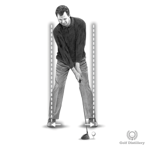 Increase driver distance by widening your stance