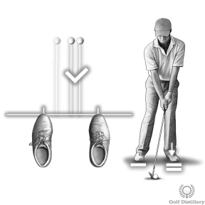 Position the ball back in your stance and your weight forward when trying to hit a low shot